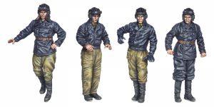 35254 SOVIET TANK CREW (for Flame Tanks & Heavy Tanks of Breakthrough)