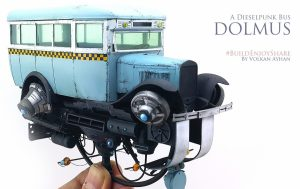 38005 PASSENGER BUS GAZ-03-30 + Volkan Ayhan