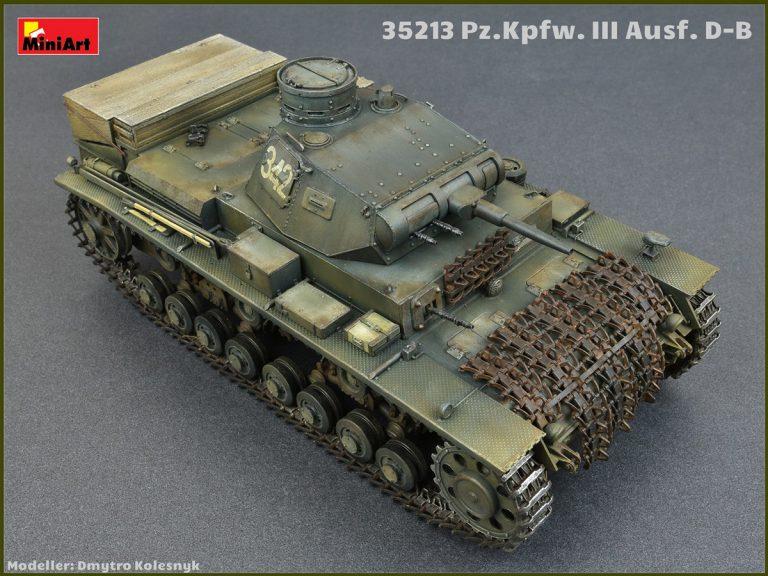 35213 Ⅲ号戦車D/B型