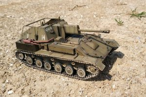 35143 SU-76M SOVIET SELF-PROPELLED GUN w/CREW + qwerty