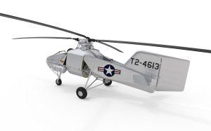 3D renders 41004 Fl 282 V-23 HUMMINGBIRD (KOLIBRI)
