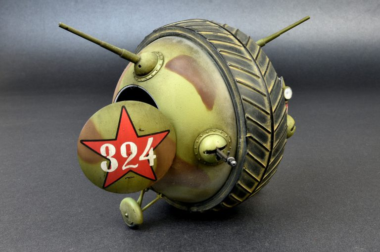 """40001 Sowjetischer Kugelpanzer """"Scharotank"""""""