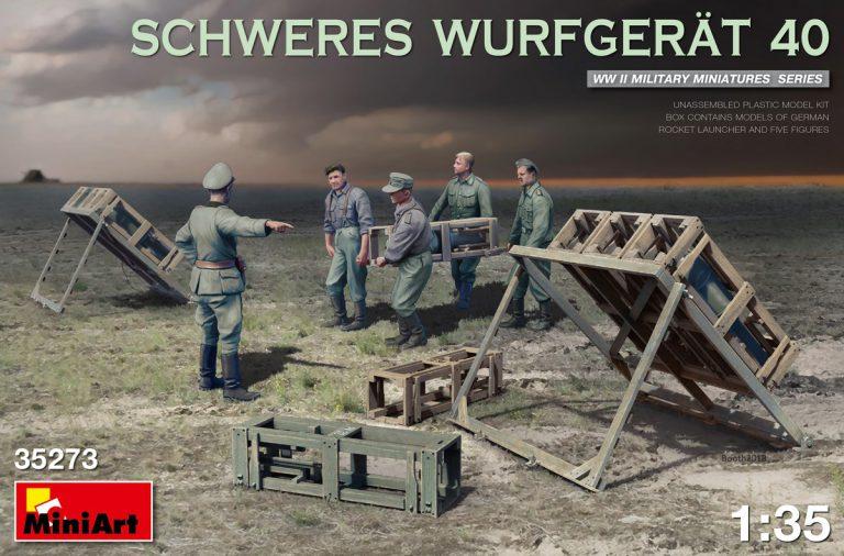 SCHWERES WURFGERÄT 40