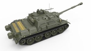 3D renders 37035 SU-122-54 Frühe Version