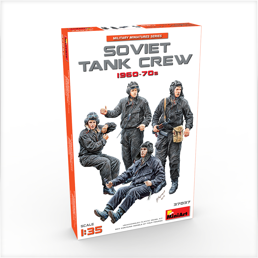 New Photos of Kit: 37037 SOVIET TANK CREW 1960-70s