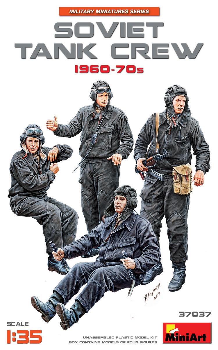 37037 苏联坦克乘员 1960-70年代