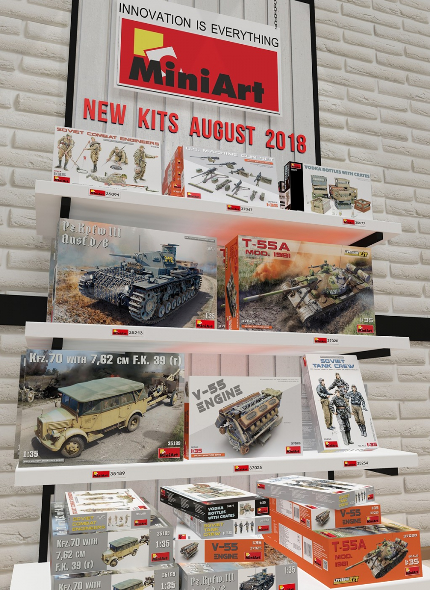 New Kits Available for Sale August 2018