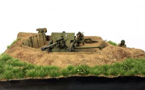 36058 ZIS-3 GUN Emplacement + Andrew Dyson