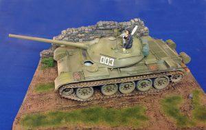37004 T-54-2 Mod. 1949 SOVIET MEDIUM TANK. INTERIOR KIT + 36047 COUNTRY ROAD + Neil Oram