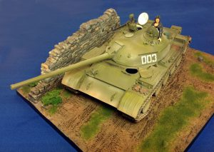 37004 T-54-2 Mod. 1949 SOVIET MEDIUM TANK. INTERIOR KIT + 36047 COUNTRY ROAD + Neil Oram