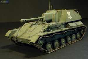 35143 SU-76M SOVIET SELF-PROPELLED GUN w/CREW + Christopher Szymkiewicz