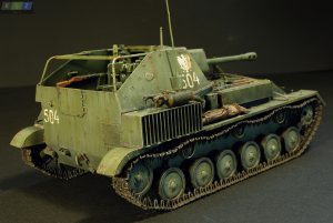 35143 SU-76M SOVIET SELF-PROPELLED GUN w/CREW + Christopher Szymkiewicz