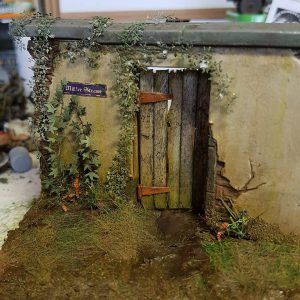 35098 FIELD KITCHEN KP-42. WINTER SCENERY + 35535 FARM ENTRANCE WITH WALL + Dave Oliver