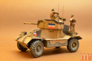 35155 AEC Mk.II ARMOURED CAR + 35078 BRITISH TANK CREW + Aleksandar Mladenovic