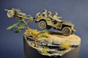 35014 U.S. TRUCK BANTAM 40 BRC w/CREW + Leonid Babichenko