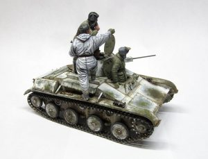 35215 T-60 EARLY SERIES. SOVIET LIGHT TANK. INTERIOR KIT + Sergey Traviansky