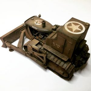 35188 U.S. ARMOURED BULLDOZER +