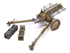 35269 GERMAN ROCKET LAUNCHER with 28cm WK Spr & 32cm WK Flamm + Andrey Zemlyanichkin