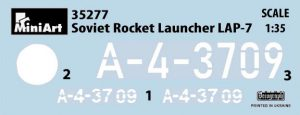 Content box 35277 SOVIET ROCKET LAUNCHER LAP-7