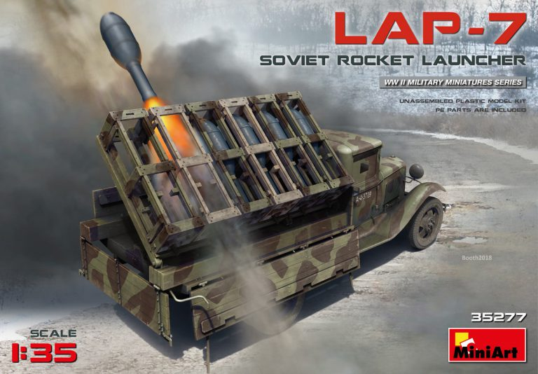 35277 ソビエトロケットランチャーLAP-7