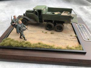 35127 GAZ-AAA CARGO TRUCK + 35073 SOVIET 45-mm SHELLS w/AMMO BOXES + F Matthews