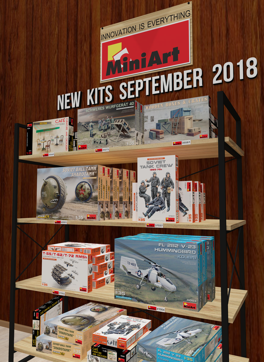 New Kits Available for Sale September