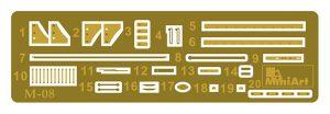 Content box 35277 ソビエトロケットランチャーLAP-7