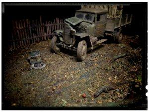 35134 GAZ-MM Mod.1943 CARGO TRUCK + munjaguar