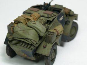 35067 DINGO Mk.1b BRITISH SCOUT CAR w/CREW + Philippos Ioannou