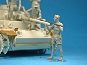 "Photos 35278 Deutsche Panzerbesatzung ""Afrika Korps"" Special Edition"