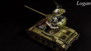 37011 T-54B SOVIET MEDIUM TANK. EARLY PRODUCTION. INTERIOR KIT + Logan Phạm