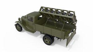 3D renders 35277 ソビエトロケットランチャーLAP-7