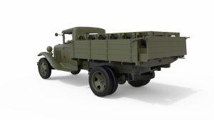 3D renders 35277 SOVIET ROCKET LAUNCHER LAP-7