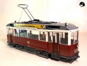 38003 GERMAN TRAMCAR 641 (Straßenbahn Triebwagen 641) + Hedgehog770