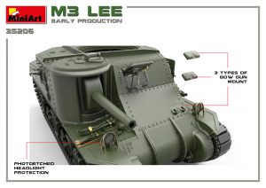 3D renders 35206 M3 LEE EARLY PRODUCTION. INTERIOR KIT