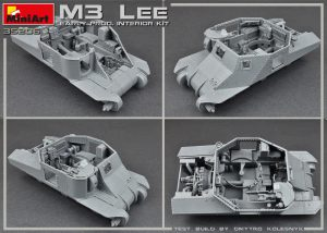 Build up 35206 M3 LEE EARLY PRODUCTION. INTERIOR KIT