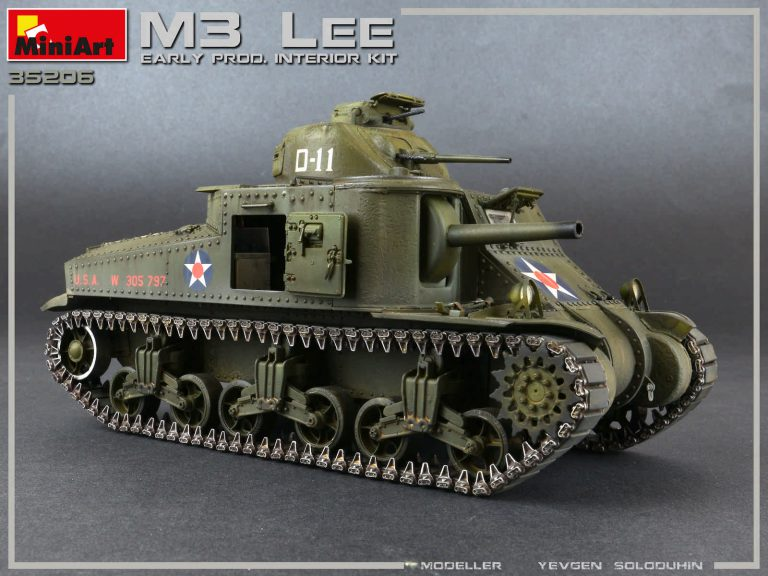 35206 M3 LEE EARLY PRODUCTION. INTERIOR KIT