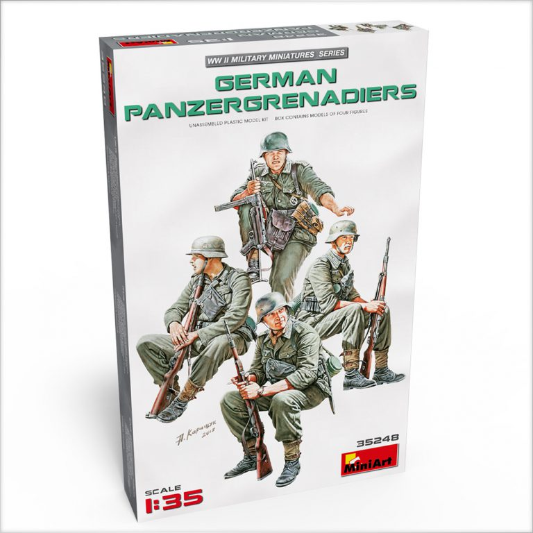 35248 DEUTSCHE PANZERGRENADIERER