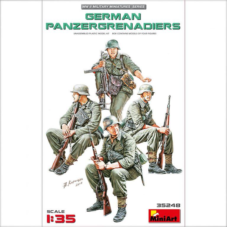 GERMAN PANZERGRENADIERS