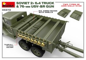 3D renders 35272 Советский 2-х Тонный грузовик 6X4 с 76-мм УСВ-БР Пушкой