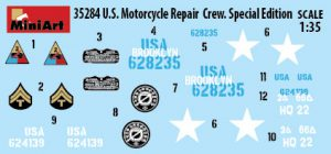 Content box 35284 U.S. MOTORCYCLE REPAIR CREW. SPECIAL EDITION