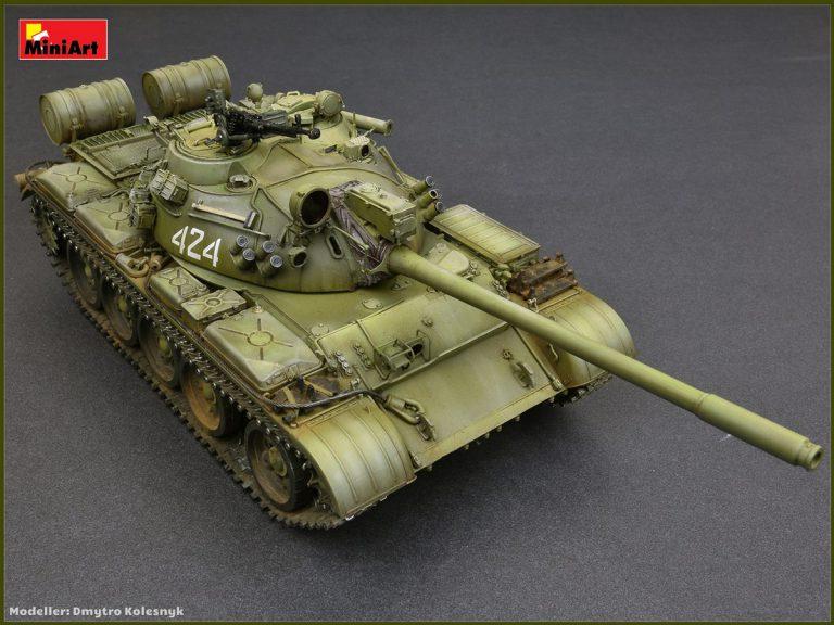 37024 T-55A 主战坦克1981型