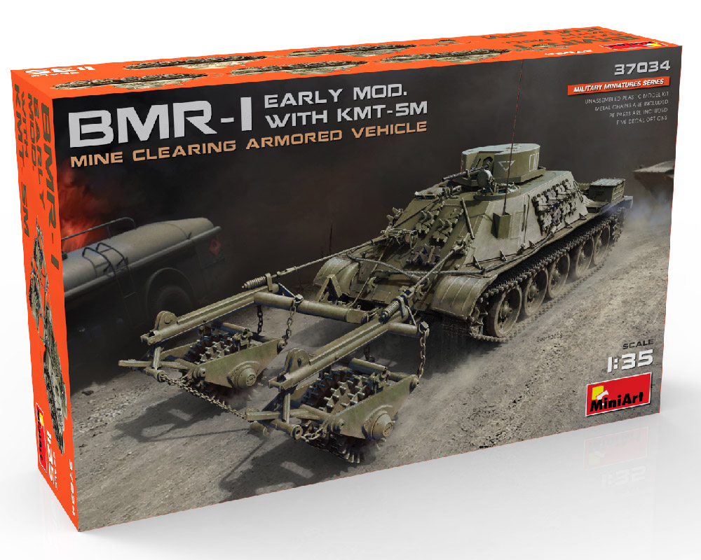 New Build Up of 37034 BMR-1 EARLY MOD. WITH KMT-5M