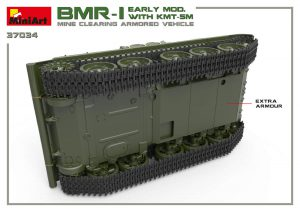 3D renders 37034 BMR-1 EARLY MOD. WITH KMT-5M