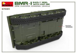 3D renders 37034 БМР-1 РАННИХ ВЫПУСКОВ. с КМТ-5М