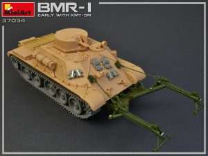 Build up 37034 БМР-1 РАННИХ ВЫПУСКОВ. с КМТ-5М