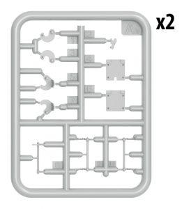 Content box 37034 БМР-1 РАННИХ ВЫПУСКОВ. с КМТ-5М