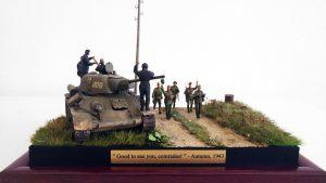 35131 SOVIET TANK AMMO-LOADING CREW + Zoltán Ranschburg