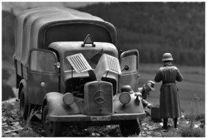 35150 MB 1500A 4×4 CARGO TRUCK + Christophe Declercq