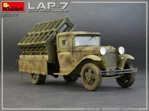35277 SOVIET ROCKET LAUNCHER LAP-7 + Olexander Lystopad
